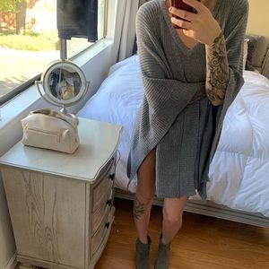 Grey cover up